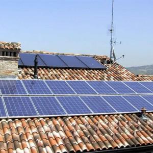 fotovoltaico e termico su tetto